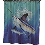 """Best River's Edge Homes Curtains - River's Edge Guy Harvey Marlin Shower Curtain, 70"""" Review"""