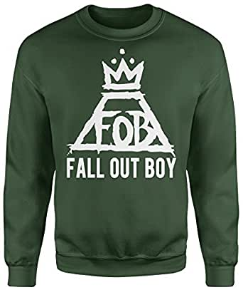 LaMAGLIERIA Sudadera Unisex Fall out Boy - Sudadera Set-in: Amazon.es: Ropa y accesorios