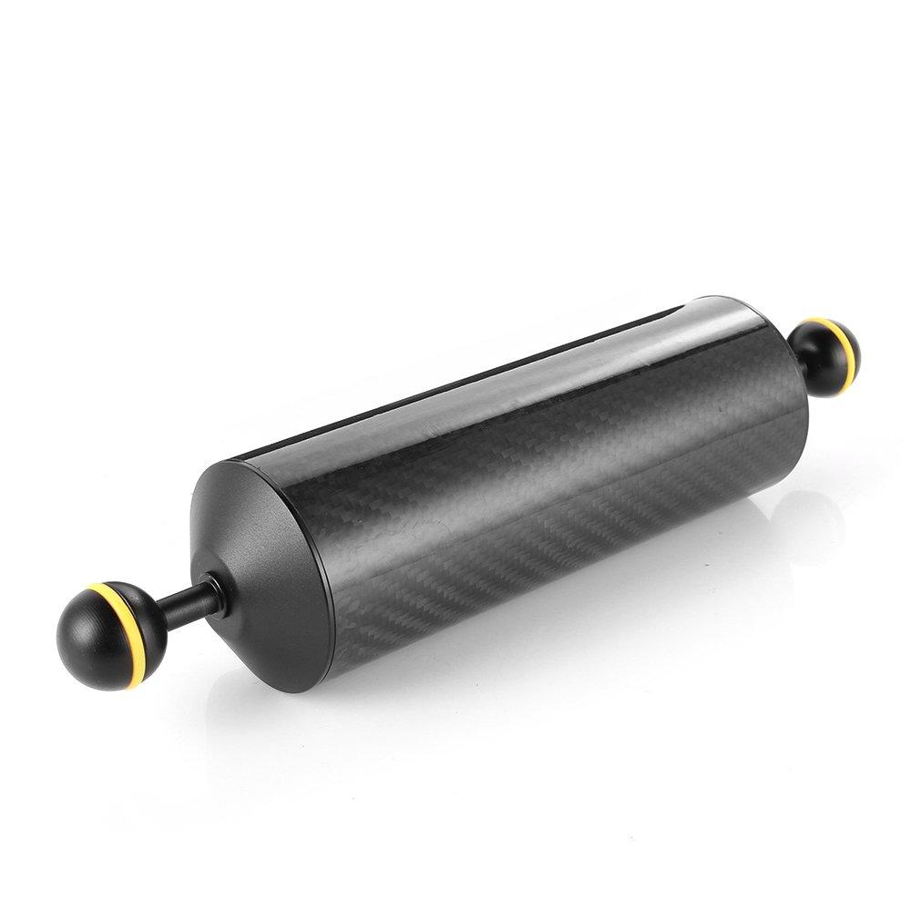 実行SHUANGYU 10 inカーボンファイバー1インチデュアルボールフローティングアームfor浮力Underwaterカメラシステム   B07DVXR39V