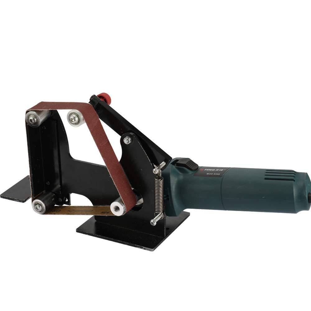 KKmoon Multifunktionseisen Winkelschleifer Schleifband Adapter Zubeh/ör von Schleifmaschine Schleifen Poliermaschine