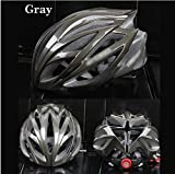 Gray - Carbon Fiber Scaffolds Road Cycling Helmet Bicycle Accessories Capacete Bike Bicicleta 56-62Cm
