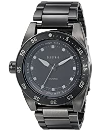 Electric Men's EW0140010005 DW03 Stainless Steel Band Analog Display Swiss Quartz Black Watch