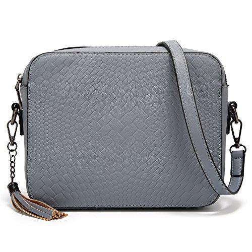AlARION Medium Tassel Crossbody Bags Shoulder Bag for Women Ladies Purse and Handbags by ALARION