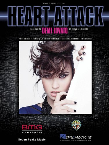 Demi Lovato - Heart Attack - Piano/Vocal/Guitar Sheet Music Single (Demi Lovato Guitar)