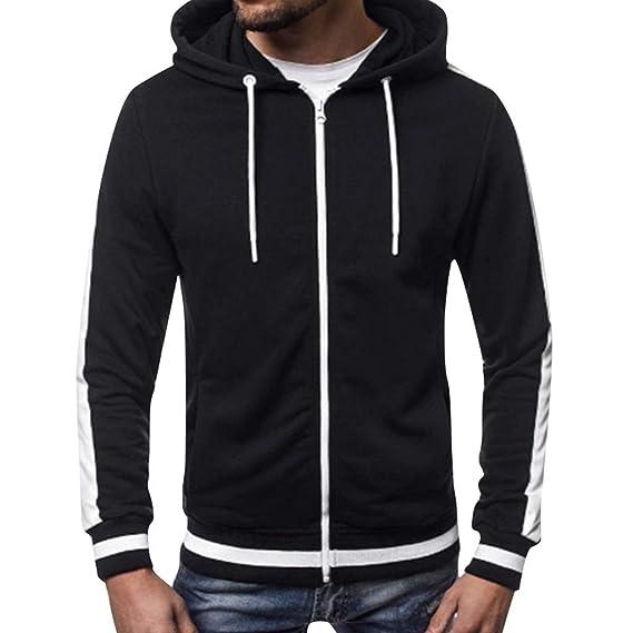Luckycat Herren Hoodie Kapuzenpullover Sweatshirt Pullover