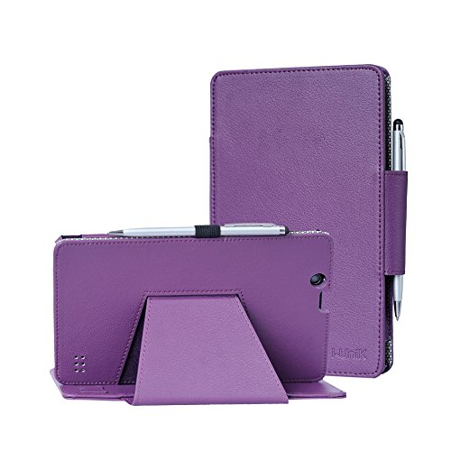 Nextbook Ares 8A case, i-UniK CASE for E FUN Nextbook Ares 8 (NXA8QC116) & Ares 8A (NX16A8116K) Touchscreen Tablet with Bonus Stylus (Purple)