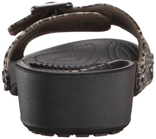 Sarahlprdsndlw Ciabatte Crocs Black Donna Nero 18d6gqd