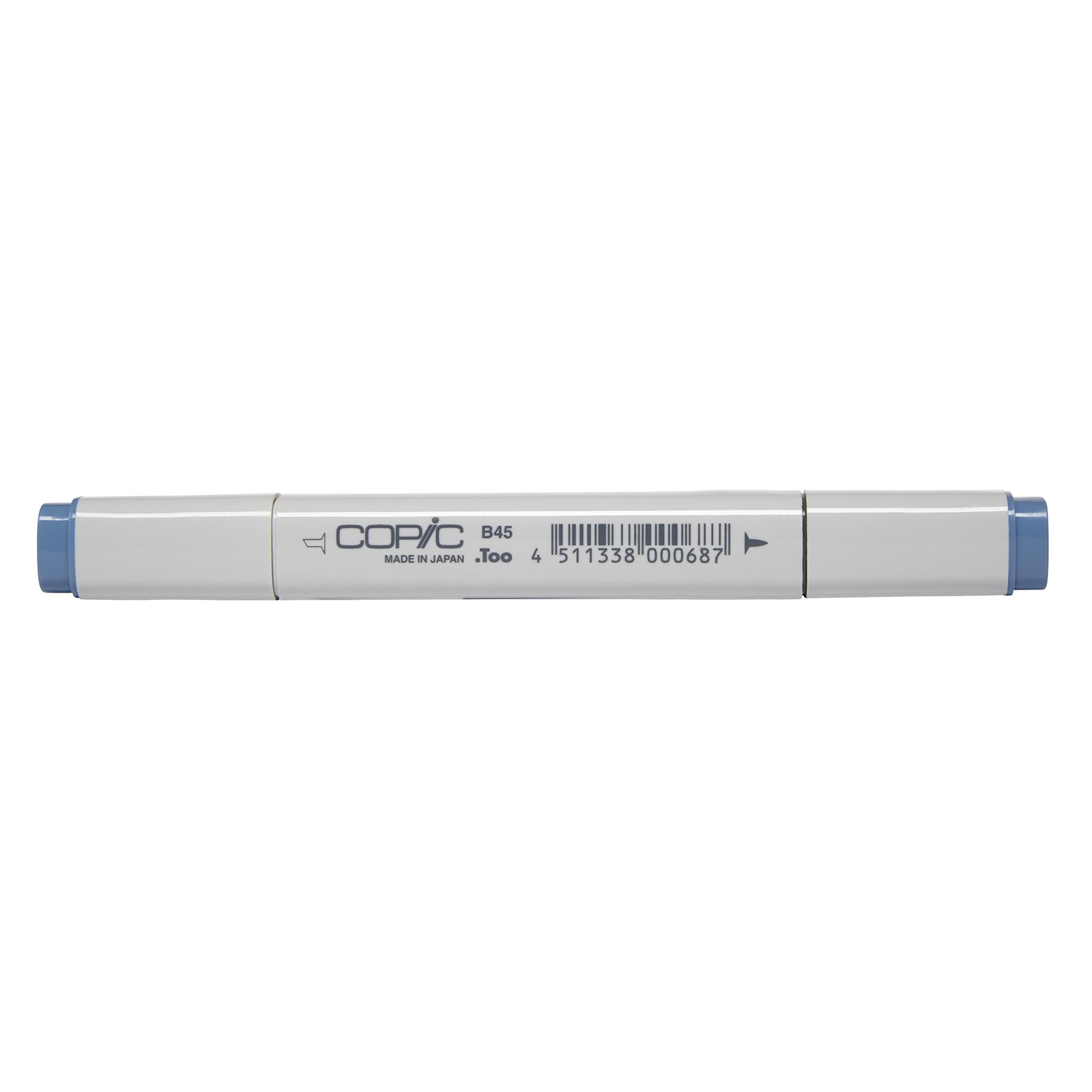 Copic Marker with Replaceable Nib, B45-Copic, Smoky Blue