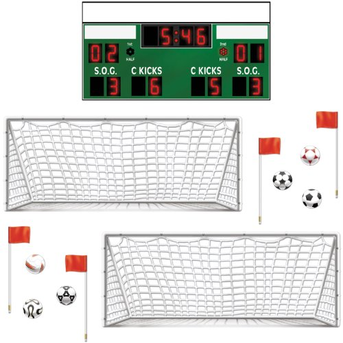 Soccer Props Party Accessory count