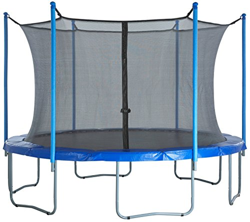 Upper Bounce Replacement 15' Trampoline Enclosure Safety Netting Fence Fits 15 FT Round Frames Using 6 Poles or 3 Arches (poles not included) by Upper Bounce (Image #6)