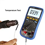 SainSmart DMT100B Digital Multimeter with Temperature Meter, Bluetooth Interface (with TrueRMS)
