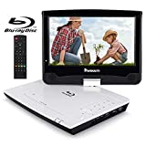 "NAVISKAUTO 10.1"" HD Portable Blu-ray DVD Player with HDMI,Built-in Battery USB/SD,Direct Play in"