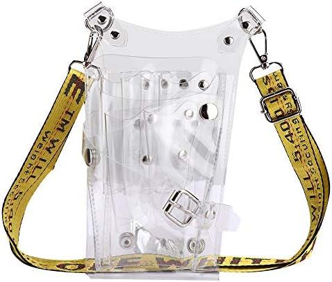 ヘアスタイリングツール、透明ヘアスタイリストシザーバッグ理髪用品ポーチケース、ウエストベルト付き