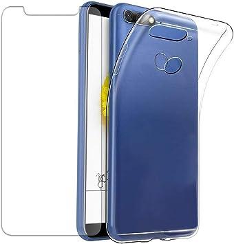 Frofine Funda para Huawei Y6 2018 + Protector de Pantalla, [1 Pack ...