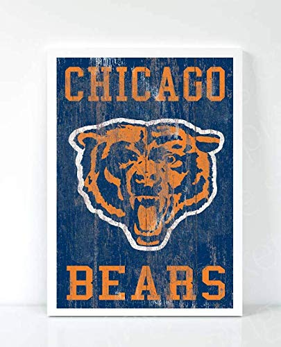 - Chicago Bears Limited Poster Artwork - Professional Wall Art Merchandise (More (8x10)