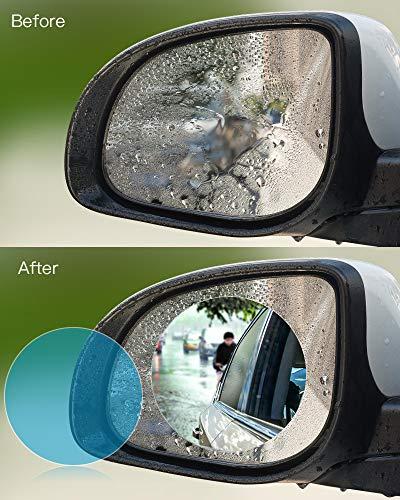anti-niebla protectora95MM oFami 2pcs Espejo retrovisor de coche pel/ícula protectora 95MM
