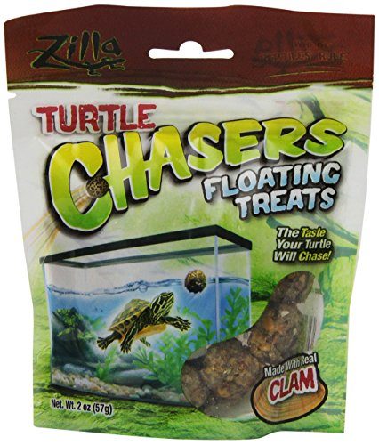 (R-Zilla 100109607 Real Clam Turtle Chasers Floating Treat, 2-Ounce)