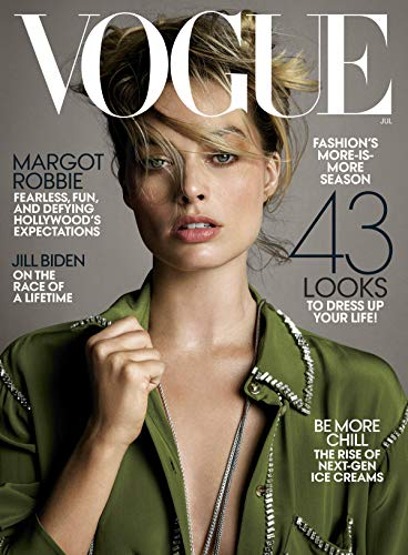 Vogue Cafe Wall - VOGUE MAGAZINE JULY 2019 MARGOT ROBBIE COVER
