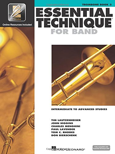 Essential Technique for Band with EEi - Intermediate to Advanced Studies: Trombone ()