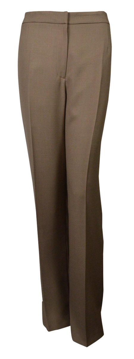 Evan Picone Sand Two Piece Career Women's Pant Suit Green 14 by Evan Picone (Image #3)