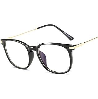 Pengmma occhiali da lettura computer TV radiation Protection occhiali (nero lucido)
