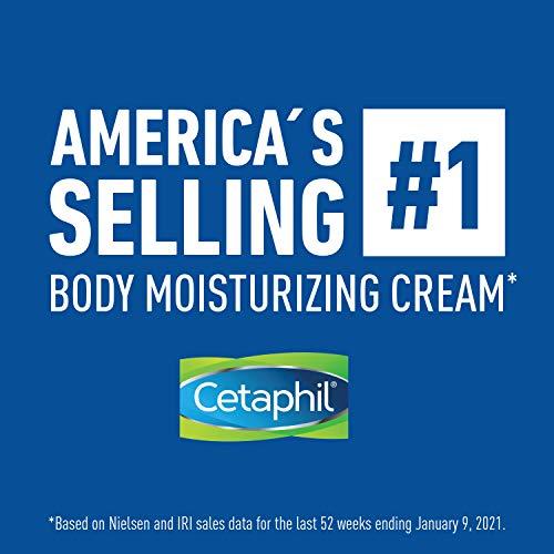 Cetaphil Moisturizing Cream for Very Dry, Sensitive Skin, Extra Strength, Fragrance Free Pack of 3