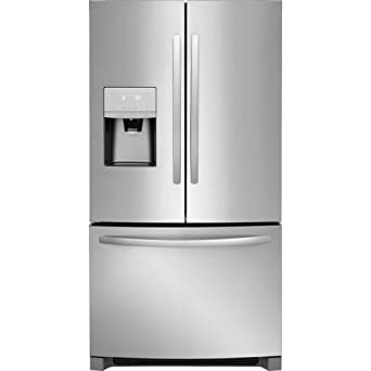 Amazon.com: Frigidaire Acero Inoxidable Francés nevera ...