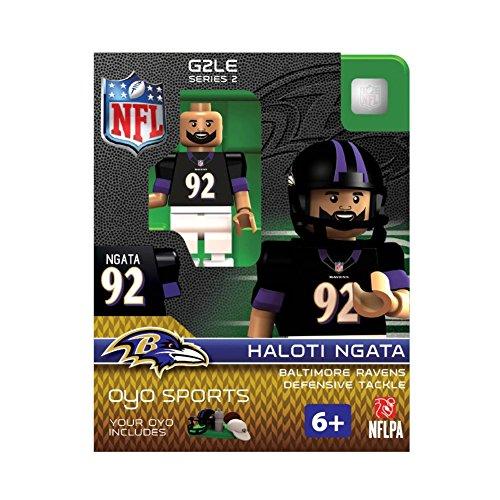 NFL Baltimore Ravens Haloti Ngata OYO G2 Minifigure