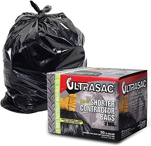 "STRONG HEAVY DUTY CLEAR PLASTIC BAGS BUILDERS BAGS 30 x 45 /"" 100MU 400 GAUGE"