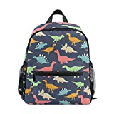 ISAOA 3D PrintedCute Dinosaur Kids Backpacks Kindergarten Preschool Toddler Boys/Girls Bookbag Cute Schoolbags for Age 2-8 Child