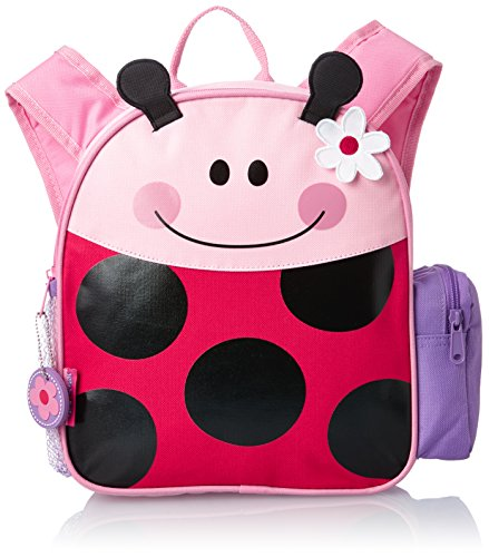 Stephen Joseph Boys' Mini Sidekick Backpack, Ladybug