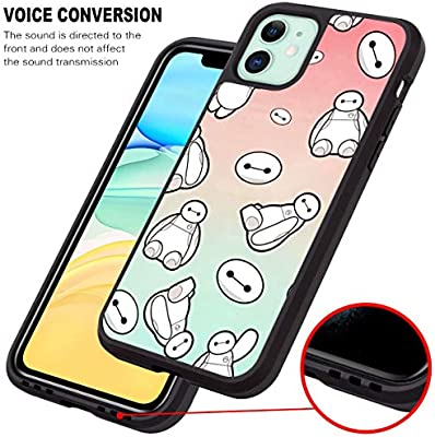 Disney Collection Baymax Gradient Wallpaper Fit For Apple Iphone 11 6 1 Version Amazon Ca Cell Phones Accessories