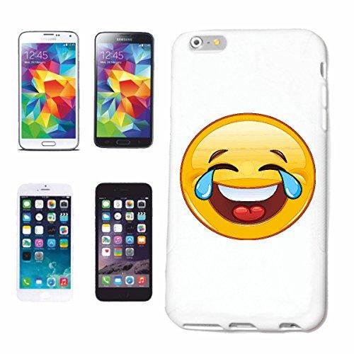 """cas de téléphone Samsung Galaxy S5 """"FUNNY SMILEY AVEC larmes dans les yeux """"sourire EMOTICON APP de SMILEYS SMILIES ANDROID IPHONE EMOTICONS IOS"""" Hard Case Cover Téléphone Covers Smart Cover pour Sams"""