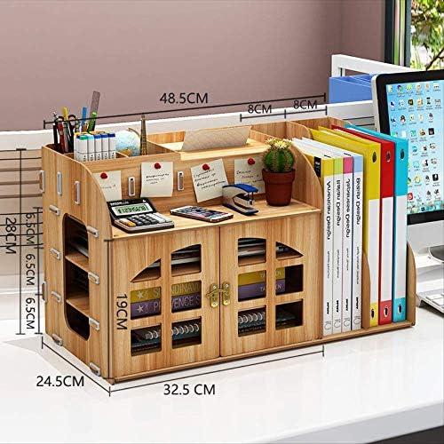 Bürobedarf Desktop-aufbewahrungsbox Bücherregal Ordner Schreibwarenregale