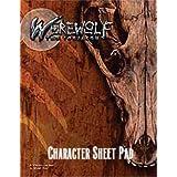 Werewolf Character Sheet Pad