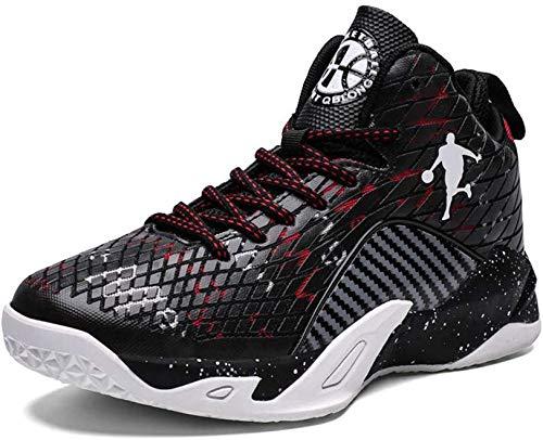 Sooiy Zapatos de Baloncesto para Hombres, Moda Formadores de ...