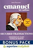 Emanuel Law Outlines : Secured Transactions, Hart, Michael, 0735583358