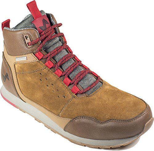 Forsake Driggs - Men's Waterproof Leather Non-Slip Hiking Sneakerboot Bison free shipping with mastercard cheap outlet locations Cheapest for sale browse for sale bYtzFH9