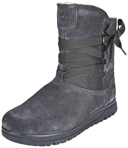scarponcini waterproof A17N8 on leighland TIMBERLAND grigio grey Grigio donna pull scarpe FqPn8O