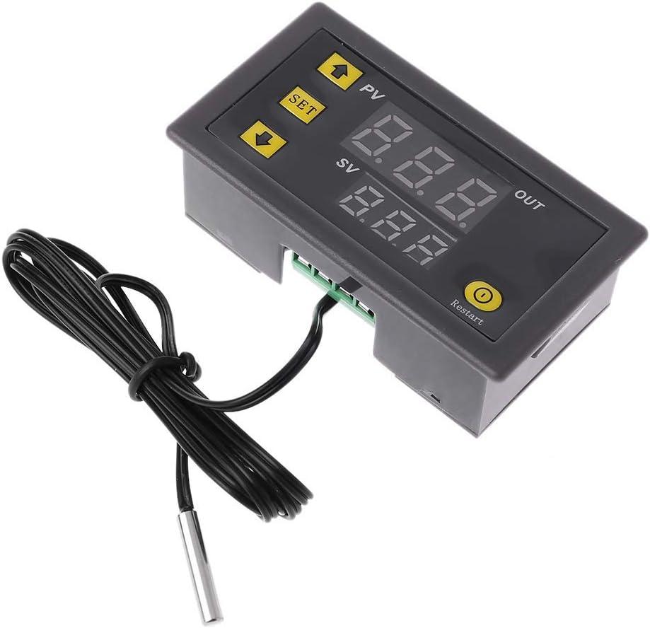 DollaTek W3230 DC 12V 20A LED Controlador Digital de Temperatura Termostato Termómetro Interruptor de Control de Temperatura Sensor Medidor