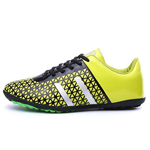 XING Lin Fußball Schuhe Fußball Schuhe Jugend Fußball Broken Training Schuhe 414243Meter gelb