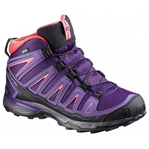 Salomon X-Ultra Mid GTX Junior cosmic purple-rain-purple-madder pink