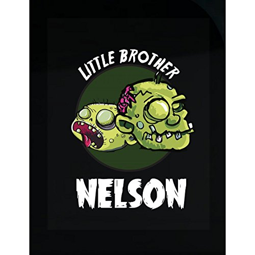 Prints Express Halloween Costume Nelson Little Brother Funny Boys Personalized Gift - Sticker -