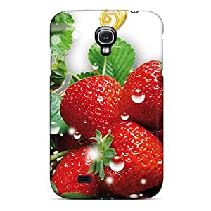 Fashionable Style Case Cover Skin For Galaxy S4- Strawberry Fever