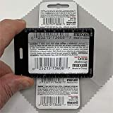 6 Credit Card Size 3X Magnifiers, Each Magnifier