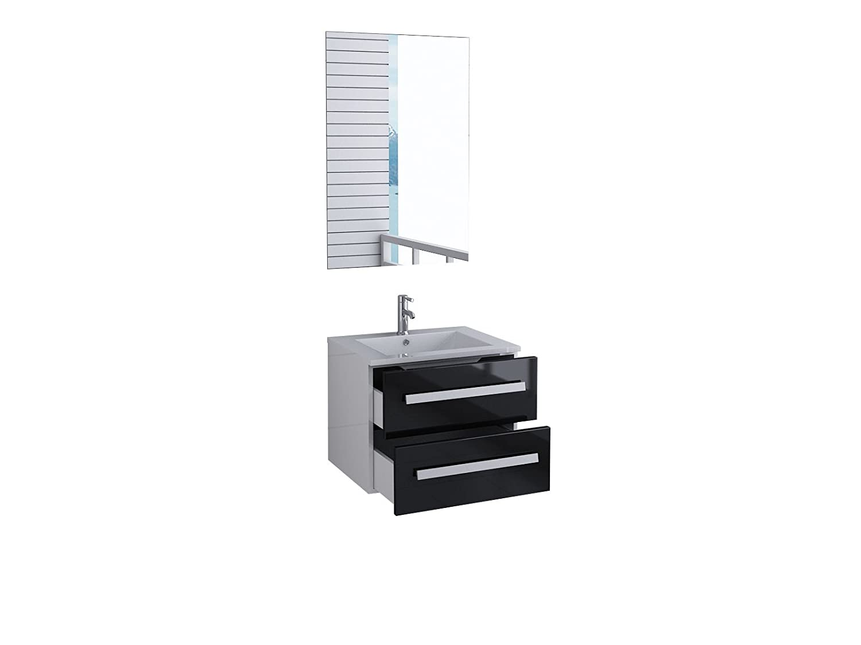 Unbekannt Badmöbel Florida Gäste WC Waschtisch Set mit 2 Schubladen Schubladen Schubladen 5 moderne Dekore 6bcb6e