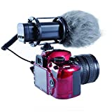 Movo VXR300 HD Professional Condenser X/Y Stereo Video Microphone for DSLR Video Cameras