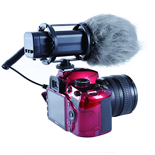 Movo VXR300 HD Professional Condenser XY Stereo Video Microphone for DSLR Video Cameras