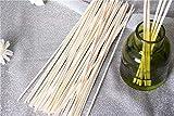 M&H 100PCS Reed Diffuser Sticks, 10 Inch Natural