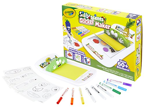 Crayola Silly Scents Sticker Maker, Gift for Kids, Ages 6, 7, 8, 9 by Crayola